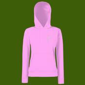 SS038 Classic 80/20 lady-fit hooded sweatshirt
